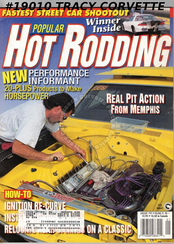 January 1997 Popular Hot Rodding Tim Lloyd Pro Street Javelin
