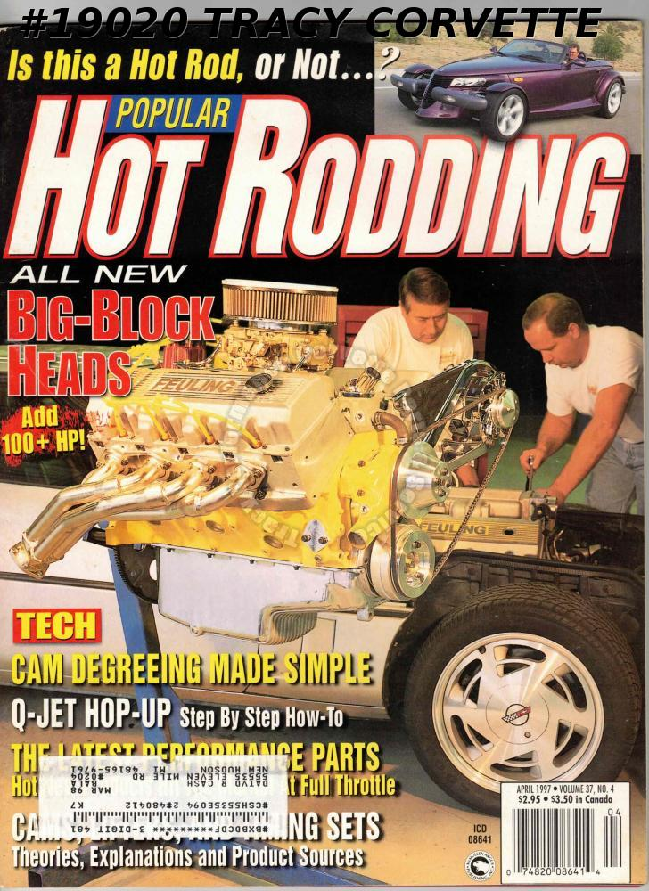 April 1997 Popular Hot Rodding Plymouth Prowler Fred Cleland Nova