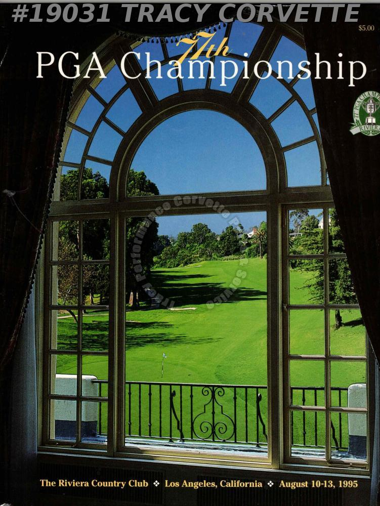 Riviera Country Club 77th PGA Championship Official Program August 10-13 1995