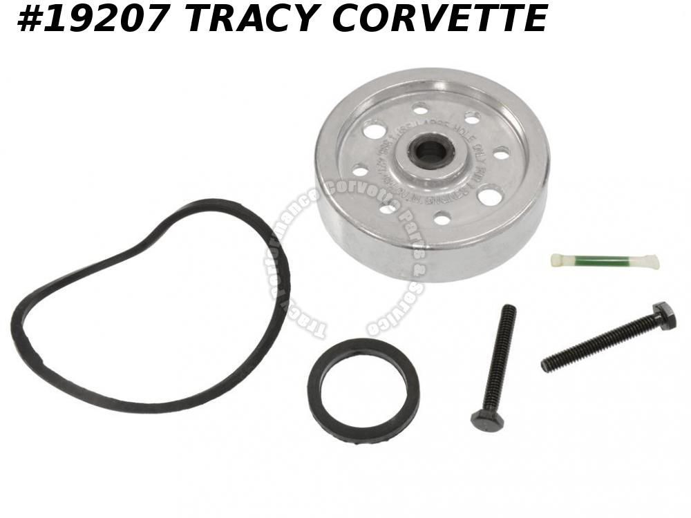 1957-1967 Chevy, Corvette Spin On Oil Filter Conversion Adapter Kit w/Bolts Gsks