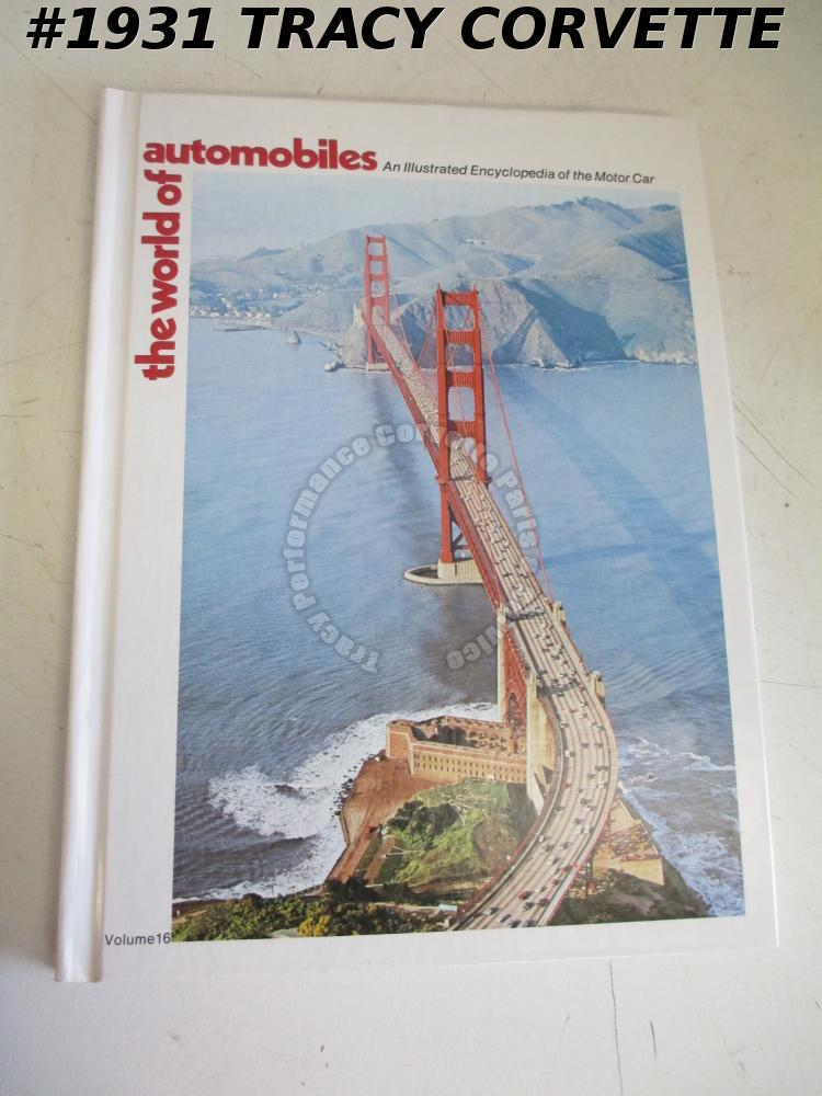 Volume 16 The World of Automobiles Rambler Pacer Renault Regazzoni Ricard Rindt