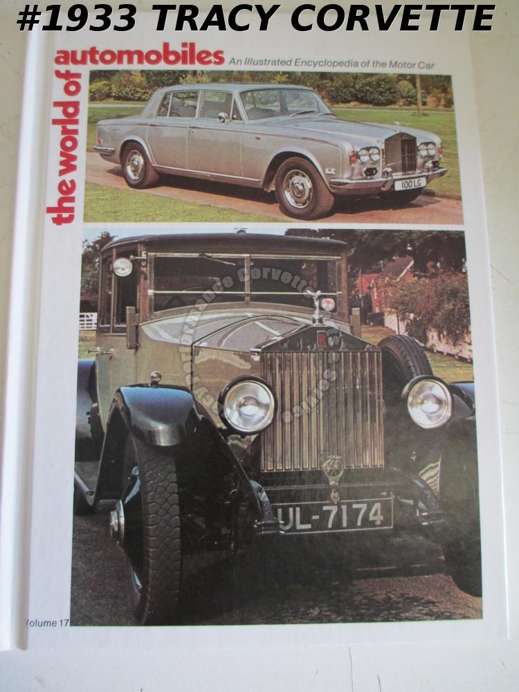 Volume 17 The World of Automobiles Sebring Races Rolls-Royce Silver Shadow Saab