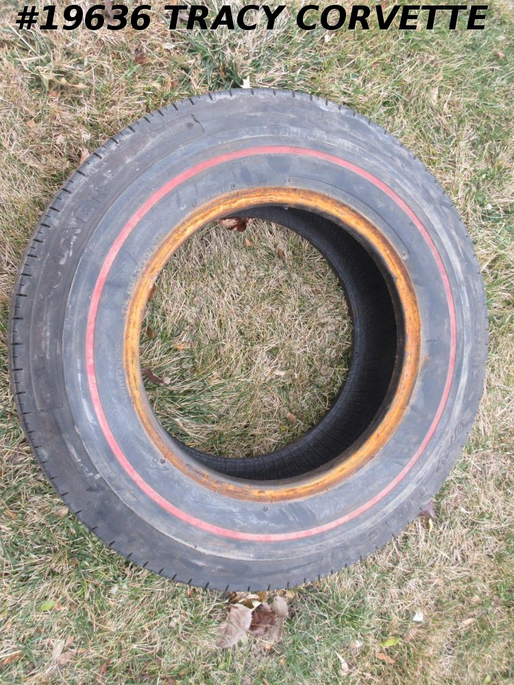 Coker Red Line Tire G70x15  Wide Track
