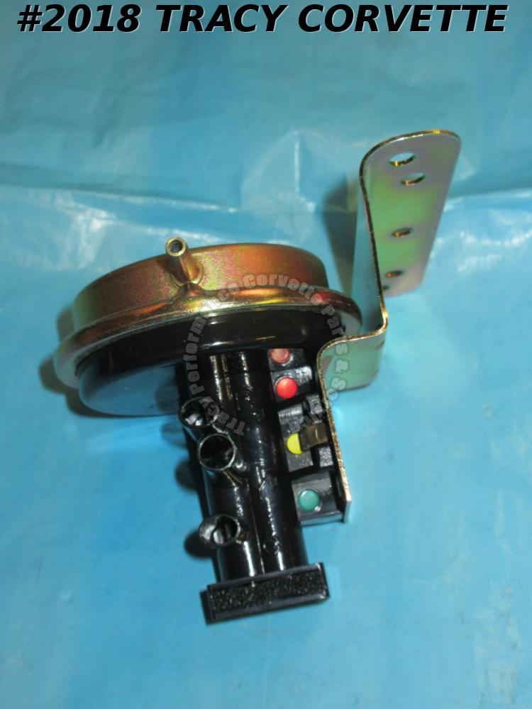 1968-1982 Corvette New 5638427X Headlight Vacuum Relay, 68-1972 Wiper Door Valve