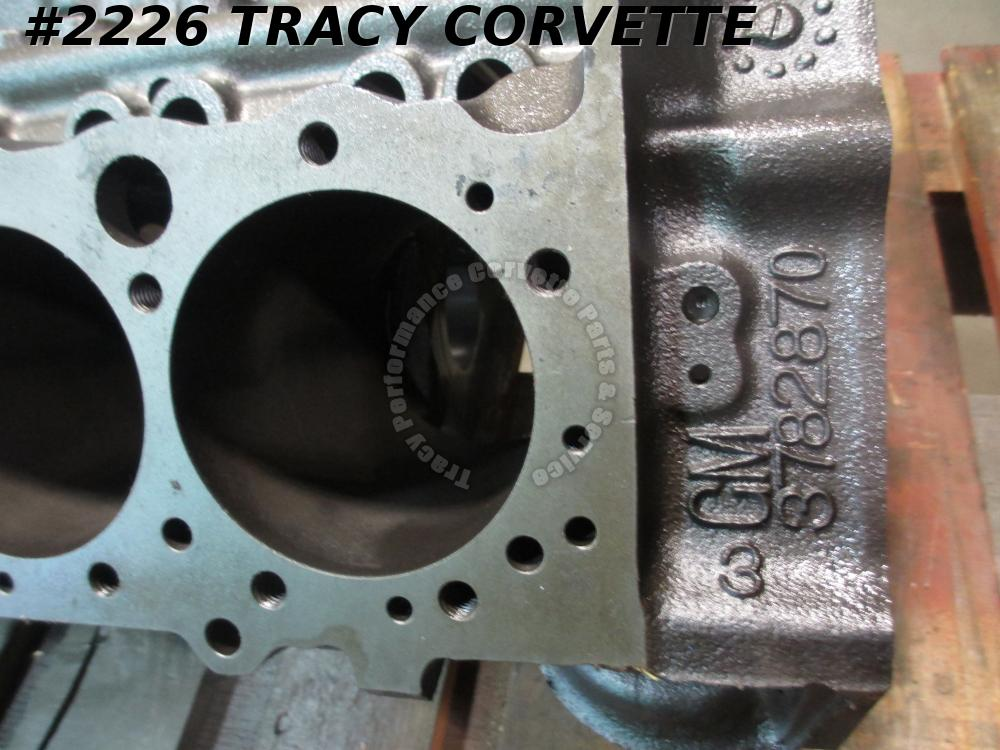 1962 Chevy & Corvette Used 3782870 1961 Dated Early 327 V-8 1 Flint Bare Block