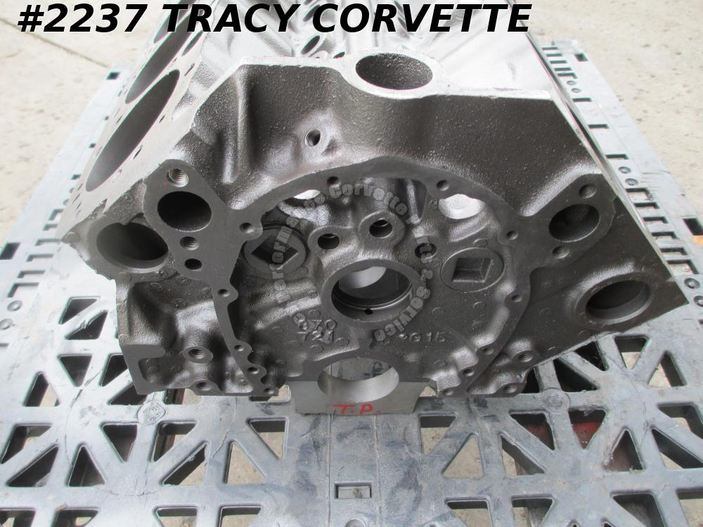 1968 Chevy Corvette Camaro Used 3914678 1967-1968 Dated 327 V-8 1 Bare Block 68