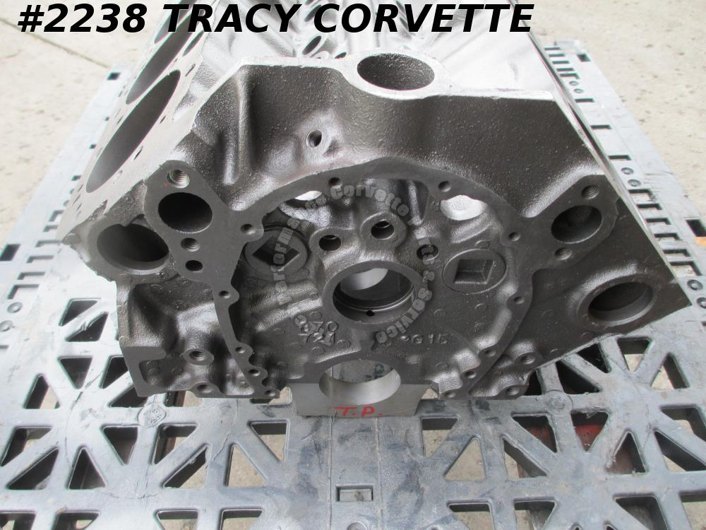1969 Chevy Corvette Camaro Used 3932386 1968 Dated 350 V8 Bare Block/Also 302 DZ