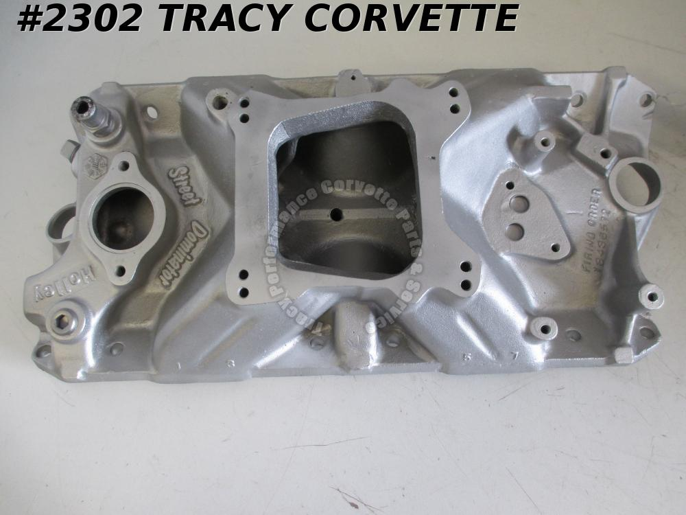 1955-86 Holley Used Street Dominator Model 701R-1 3001 SBC Alum Intake Manifold