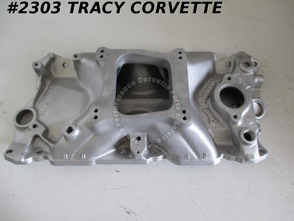 1955-86 Holley Used Street Dominator 701R-1 3001 SBC Al Intake Manifold No EGR