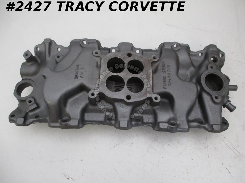 1963 Chevrolet Used 3830831 409 340 HP Cast Iron W Intake Manifold for AFB Carb