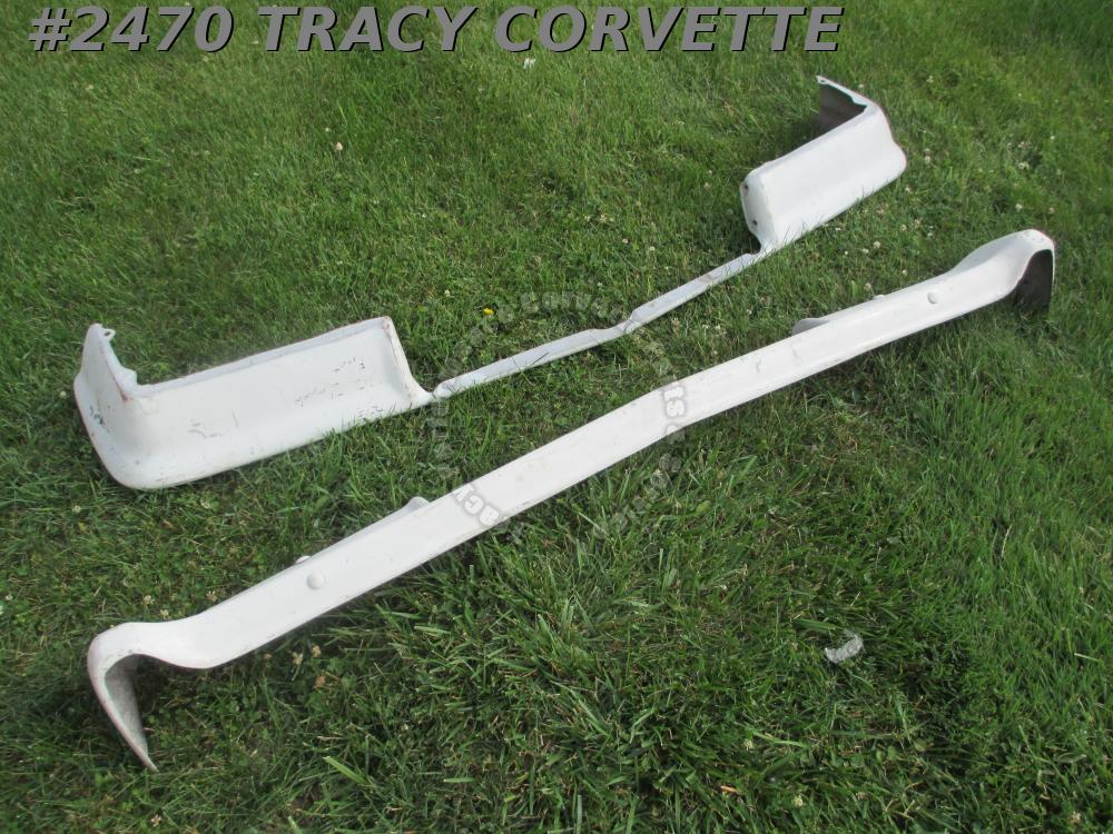 1962 Chevrolet New Full Size, Impala, BA Fiberglass Rear Bumper ONLY, Front Sold