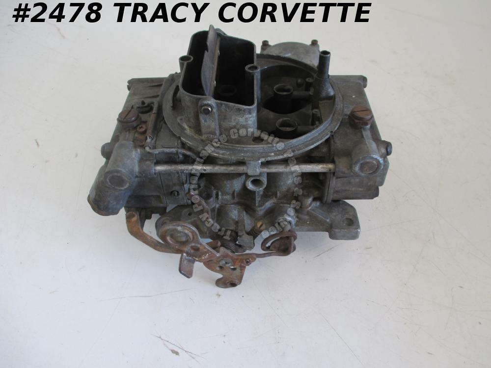 1965-1966 Chevrolet Holley Carburetor Dated 5A2 3868864-ES LIST-3140-1 BBC w/AT