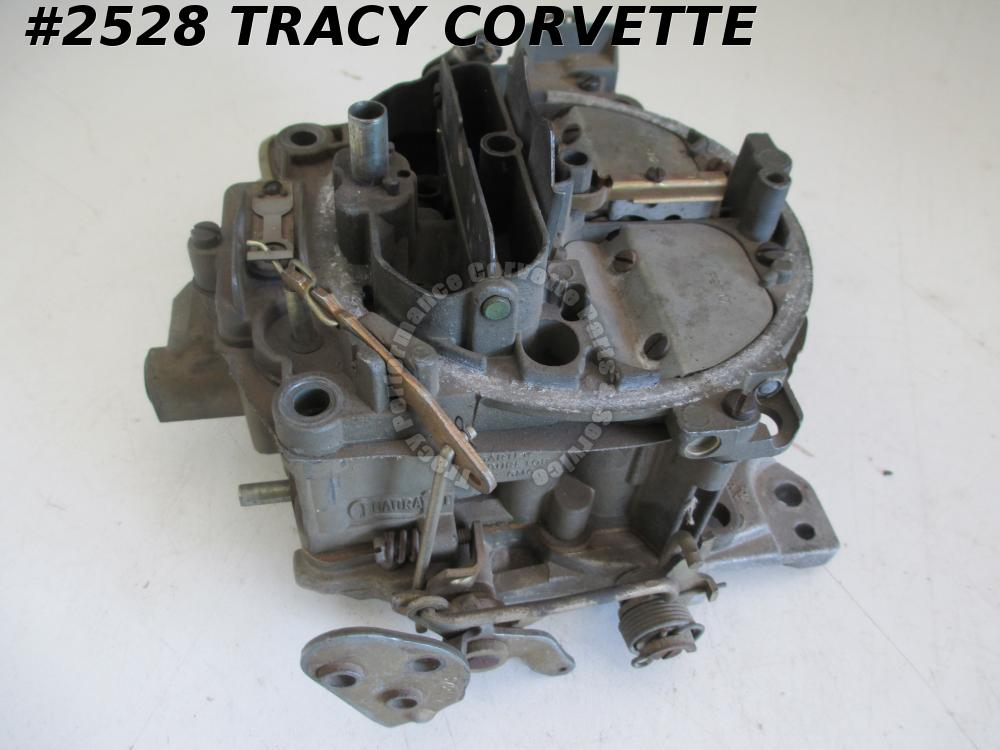 1969 69 Chevy Used Original 7029201 BBC Carter Quadrajet Carburetor Dated D9