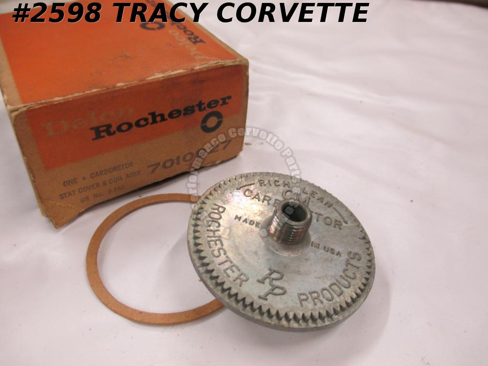 1957 Chevrolet NOS 7010927 Delco Rochester Stat Cover & Coil Assembly