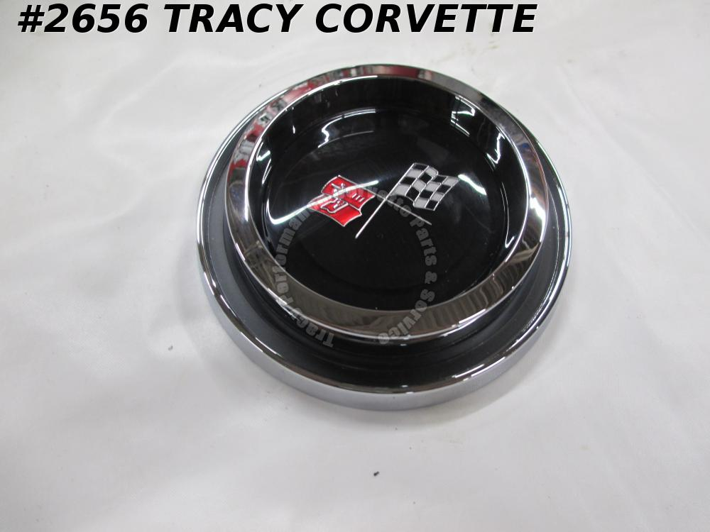 1968-1974 Corvette Wire Wheel 1377173 Chrome Hubcap Center