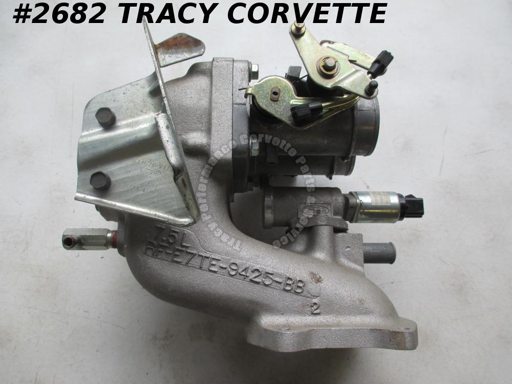 1988-97 Ford Truck Upper Intake RF-E7TE-9425-BB Manifold with Throttle Body