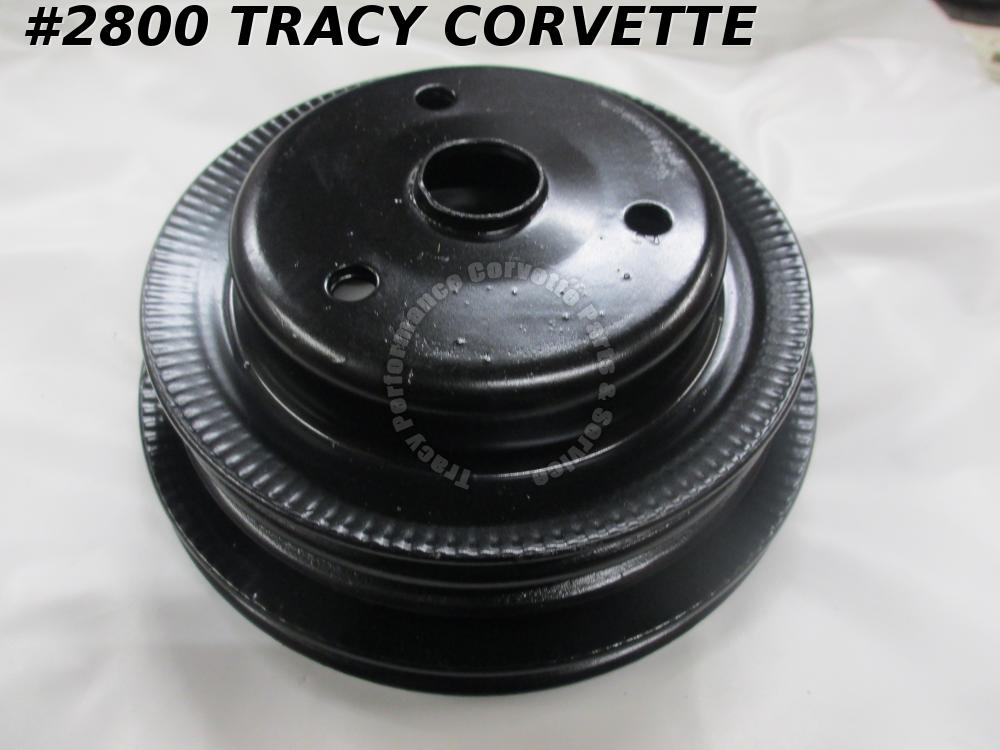 1969-1972 Chevrolet Refurbished Original 3972180 Crankshaft Pulley 3 Groove