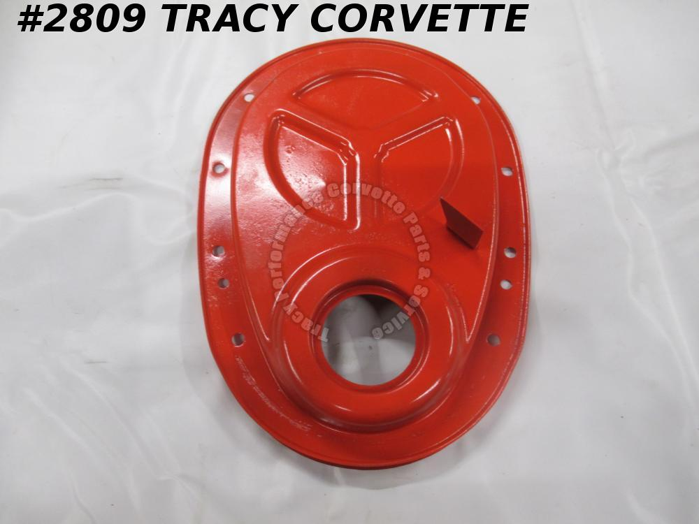 "1958-65 Chevrolet 348 409 Timing Chain Cover for 6"" Balancer Dowel Hole"