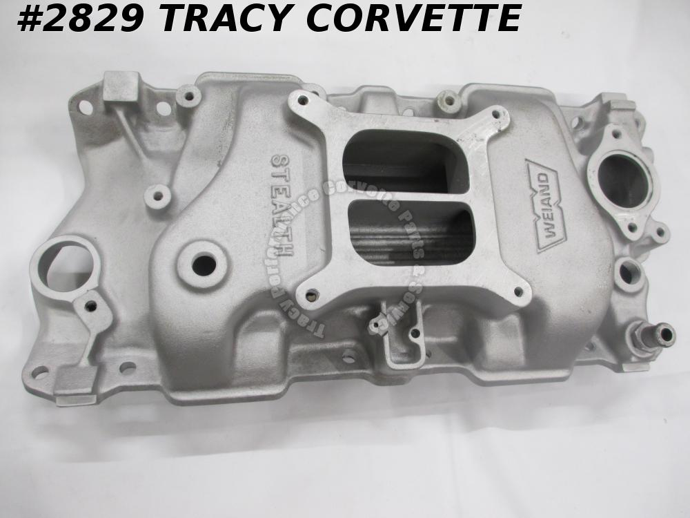 1955-91 Chevy Weiand Used 8016 Stealth SB Intake Manifold 283 327 350 400 SBC