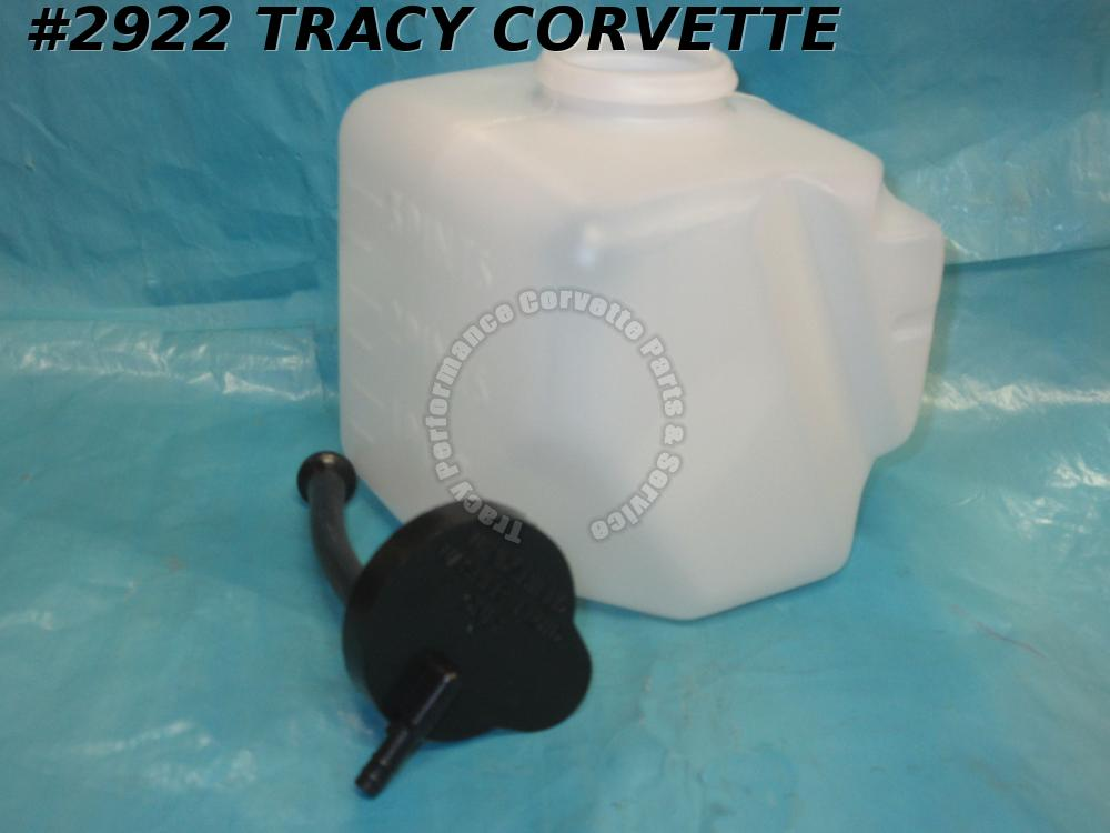 1963-1970 Corvette GM# 3840083 Washer Fluid Reservoir Windshield Bottle Assembly