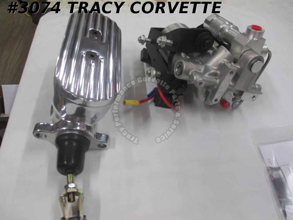 1963-1982 Corvette Electric Power Brake Master Cylinder Kit w/Pump & Accumulator