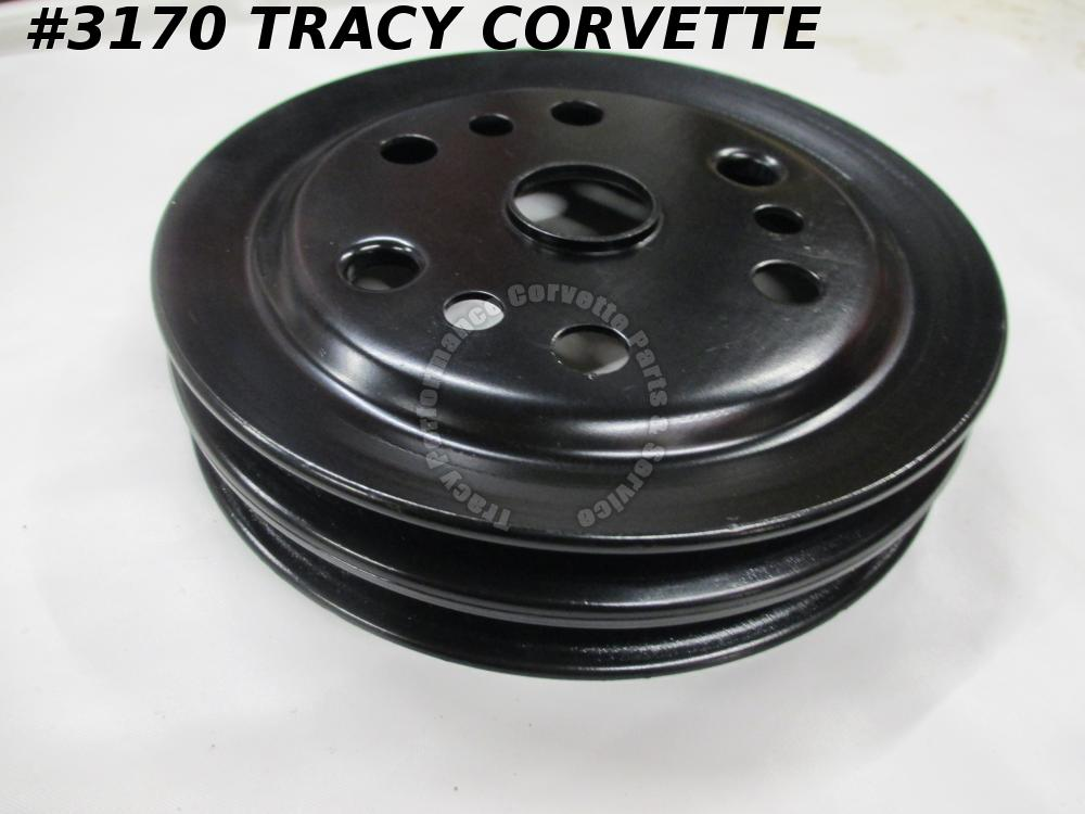 1962-1980 Corvette New 3858533 BJ 327/350 SHP 3766987 2 Groove Crankshaft Pulley