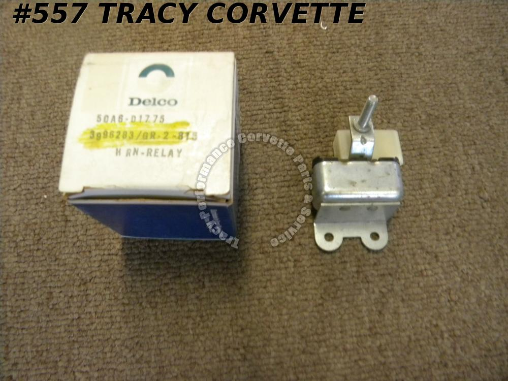 1972-1973 Chevy Corvette Etc NOS 3996283 Delco D1775 Horn Relay Grp. 2.815 72-73