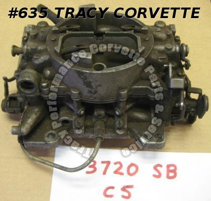 1965 Corvette Chevy Used Original 327/275-300 HP Carter AFB Carburetor 3720SB C5