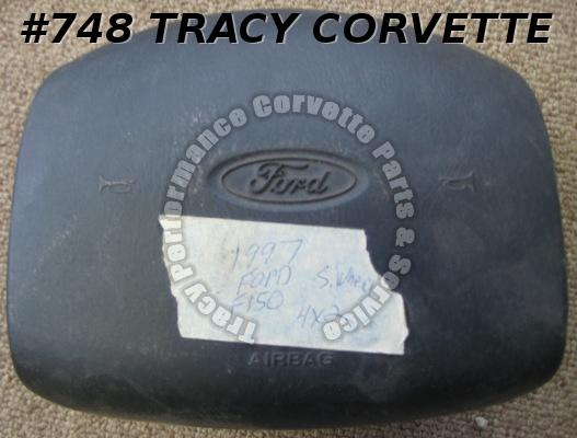 1997 Ford F 150 4 x 2 Black Steering Wheel Air Bag
