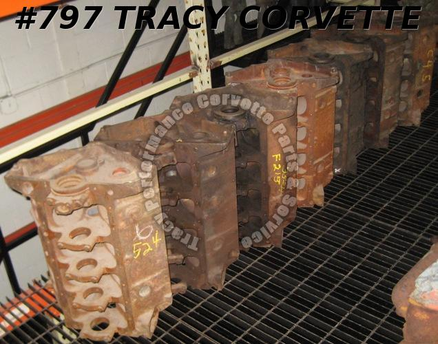 1955 Chevy & Corvette Used 3703524 265 V-8 (1) Bare Block, Guaranteed Machinable