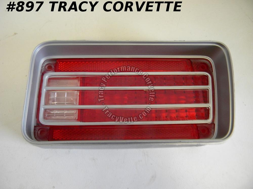 1970 Chevrolet Chevelle New 5964288 RH Tail Light Lens-2nd Design Also 70 Malibu